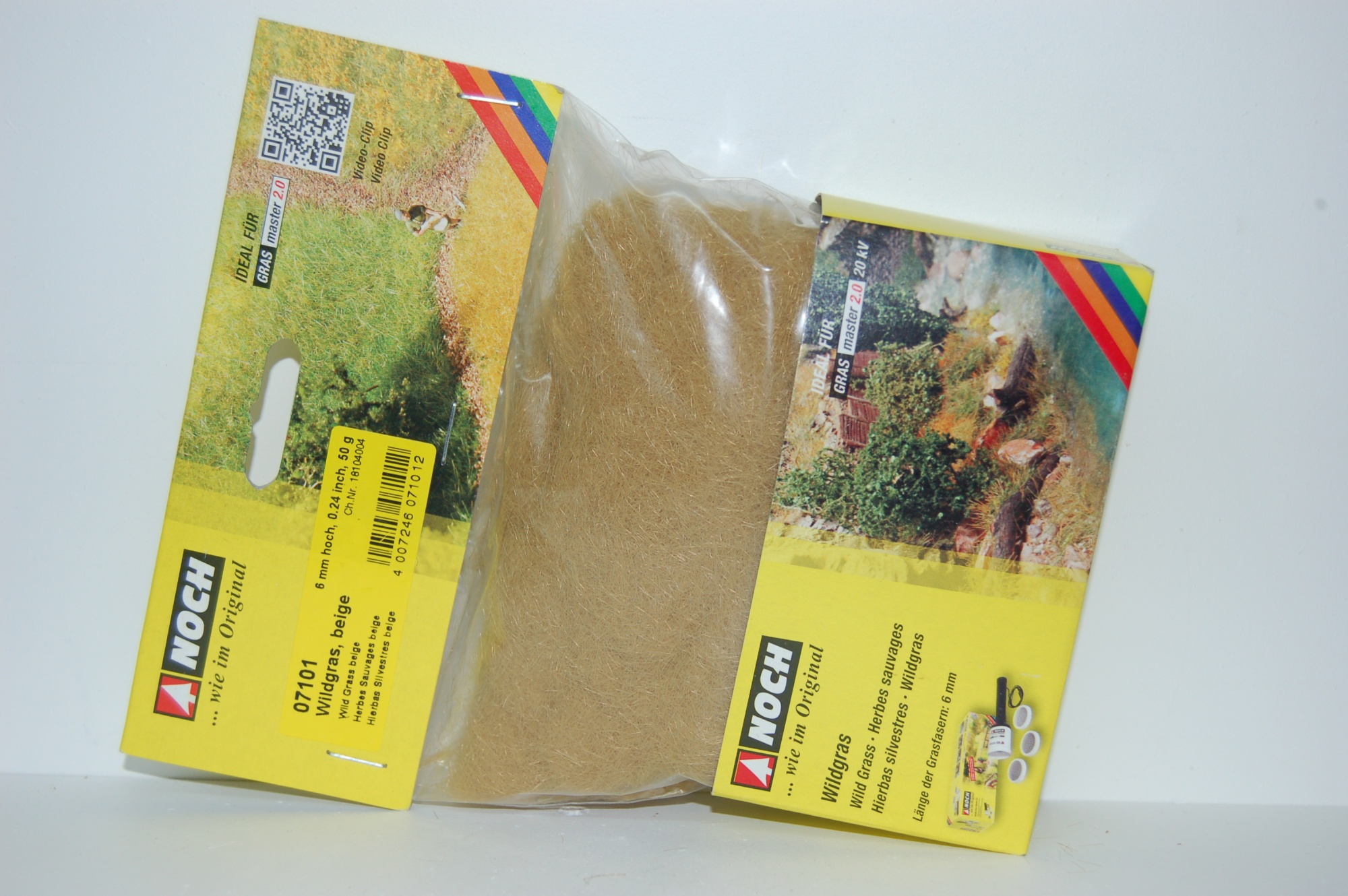 Herbes sauvages beige longueur 6 mm