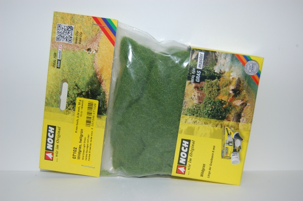 Herbes sauvages vert claire Longueur 6 mm