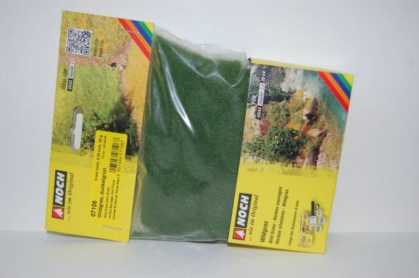 Herbes sauvages vert foncé Longueur 6 mm