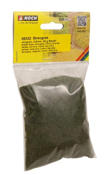 Herbes vertes olive 2,5 mm