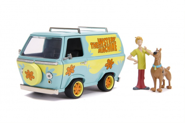 Hollywood Rides - Scooby-Doo Myserty Machine