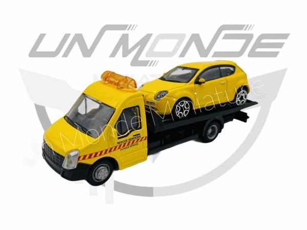 Iveco Dailly Transporteur avec Alpha Roméo