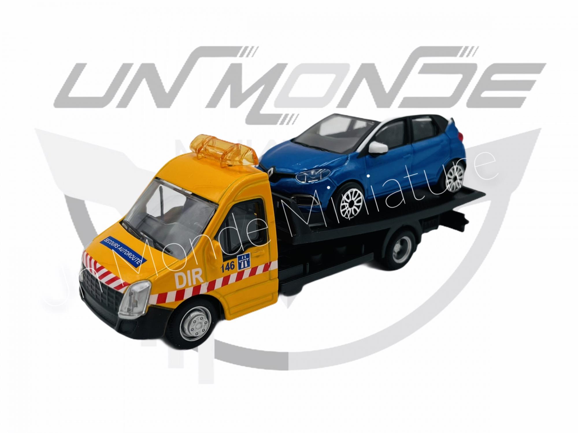 Iveco Dailly Transporteur avec Renault Captur