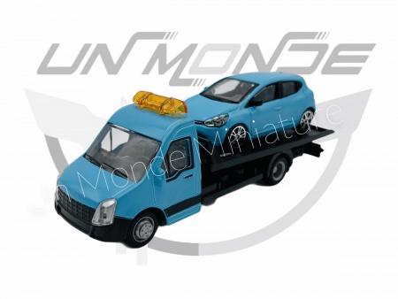 Iveco Dailly Transporteur avec Renault Clio