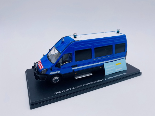 Iveco Daily Durisotti Fourgon Intervention Bleue GENDARMERIE