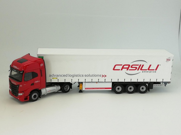 Iveco S-WAY NP Tautliner CASILLI ENTERPRISE