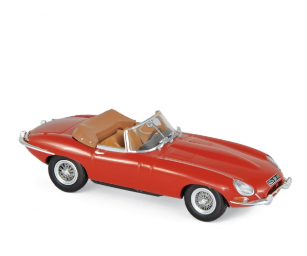 Jaguar E-Type Cabriolet 1961 Carmin Red