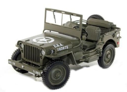 JEEP US ARMY Ouverte 1944