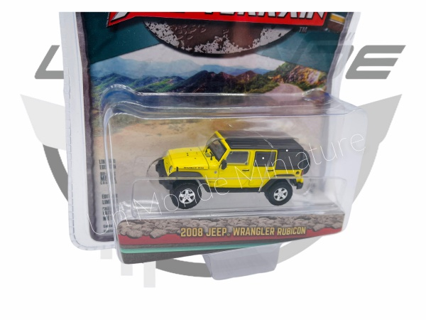 Jeep Wrangler Rubicon 2008 Yellow & Black