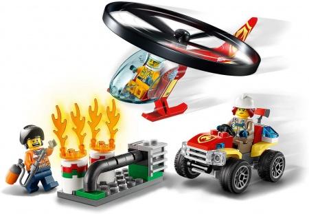 L\'Intervention de l\'Hélicoptère des Pompiers