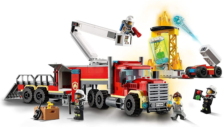 L\'Unité de Commandements des Pompiers
