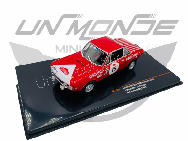 Lancia Fulvia 1600 Coupé HF #15 San Remo Rally 1972