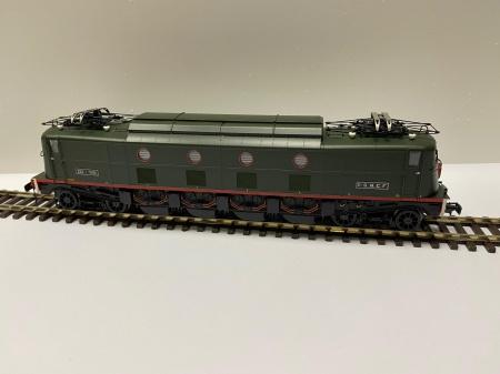 Locomotive Electrique 2D2 5401 Vert Foncée SNCF