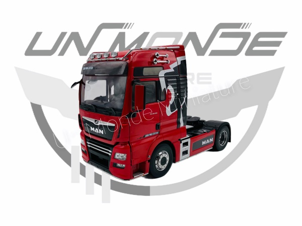 MAN TGX XXL Lion Pro Edition Red