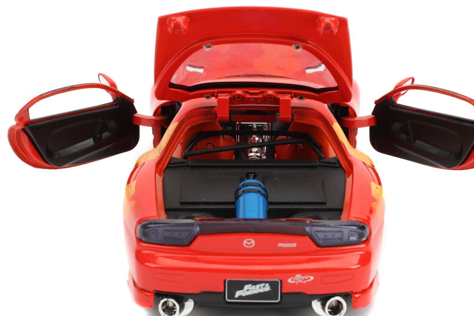 Mazda RX-7 Orange Julius\'s Red 1993