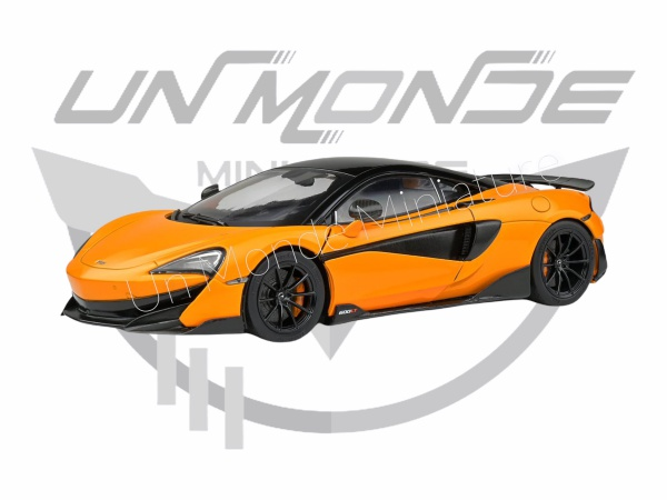 McLaren 600 LT McLaren Orange 2018