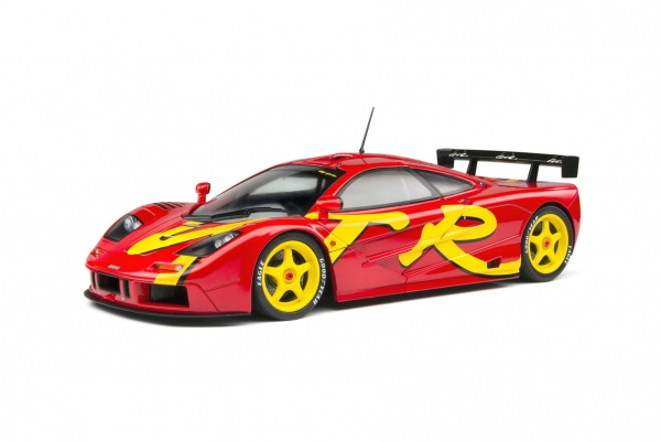 Mclaren F1 GTR Short Tail 1996 Red