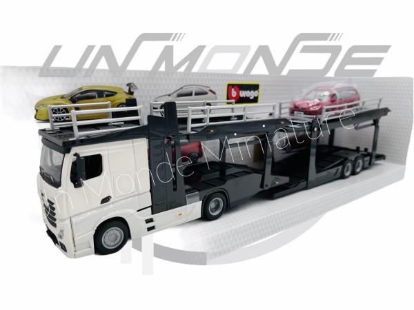 Mercedes Actros 2545  White Transporteur