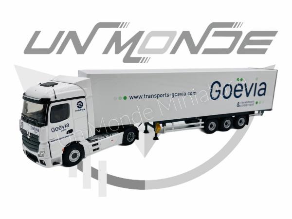 Mercedes Actros 5 Remorque Fourgon Goevia Transports Et Logistique