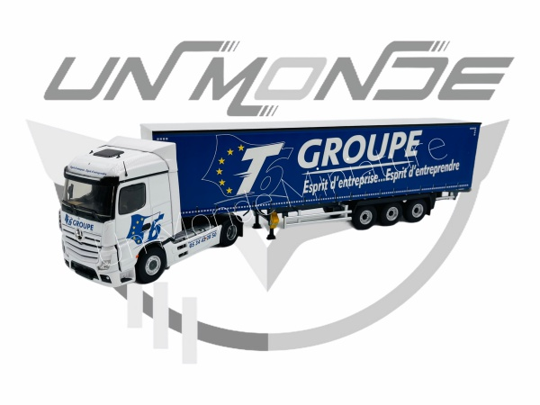 Mercedes Actros 5 Tautliner T6 GROUPE