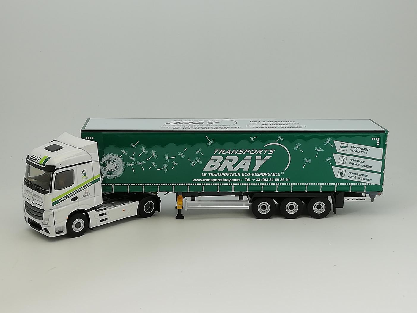 Mercedes Actros 5 Tautliner TRANSPORTS BRAY