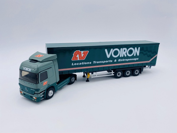 Mercedes Actros Semi Tautliner Transports VOIRON