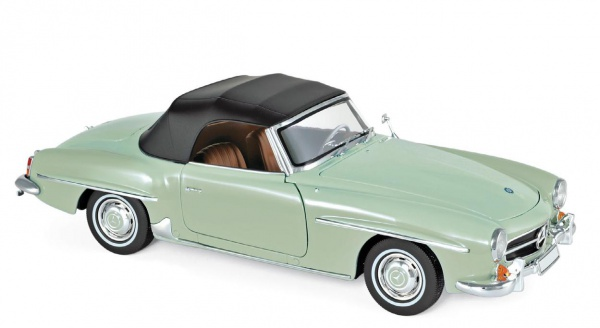 Mercedes-Benz 190 SL 1957 Light Green Métallic