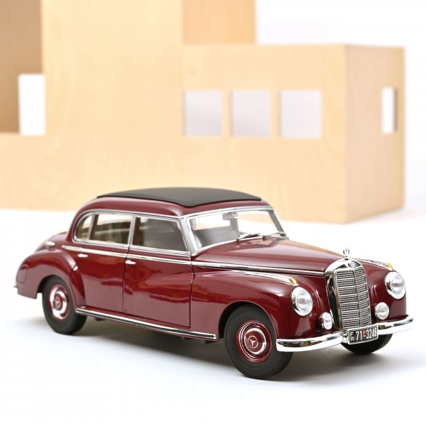 Mercedes-Benz 300 1955 Dark Red