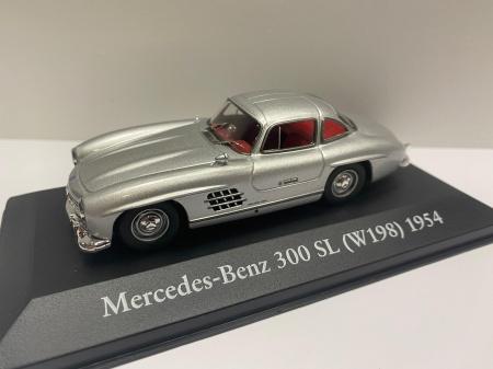 Mercedes Benz 300 SL 1954 Siver
