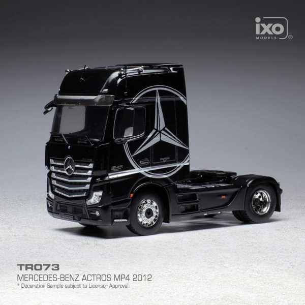 Mercedes-Benz Actros MP4 Black