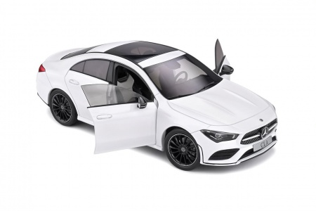 Mercedes Benz CLA C118 Coupe AMG Line White 2019