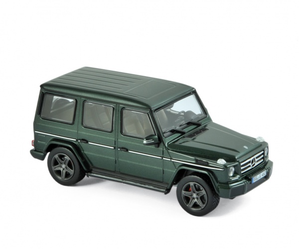 Mercedes-Benz G-Class 2017 Green metallic