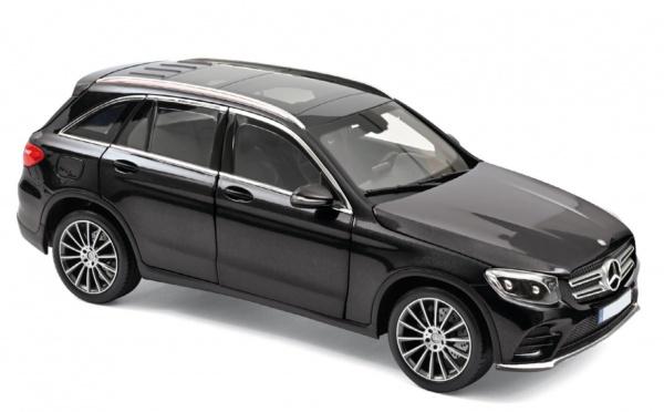 Mercedes-Benz GLC 2015 Black