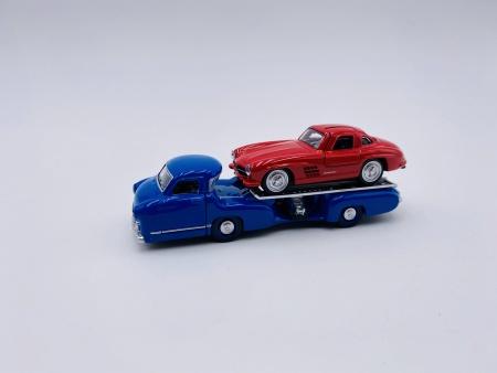Mercedes-Benz Renntransporter & Mercedes-Benz SL 1955
