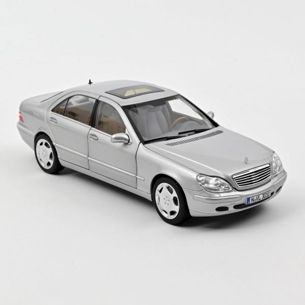Mercedes-Benz S600 1998 Silver