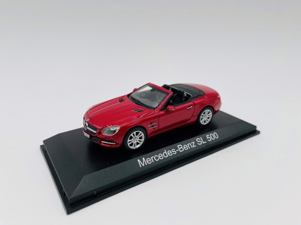Mercedes-Benz SL Klasse de 2012 Red métallic