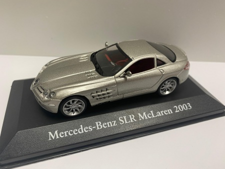 Mercedes Benz SLR Mc Laren 2003 Silver