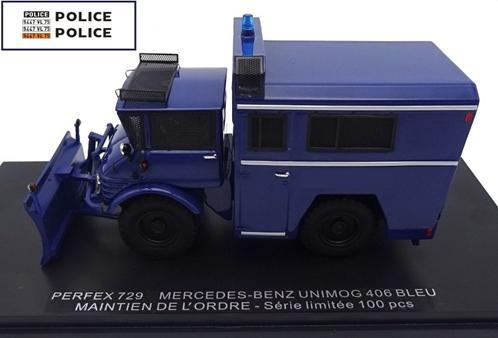 Mercedes-Benz Unimog 406 Maintien De L\'Ordre Bleu