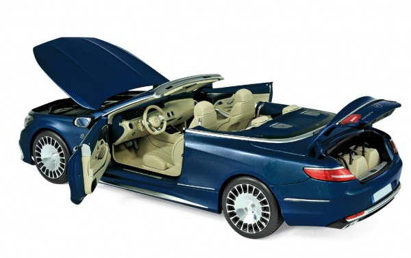 Mercedes-Maybach S650 Cabriolet 2018 Dark Blue Métallic