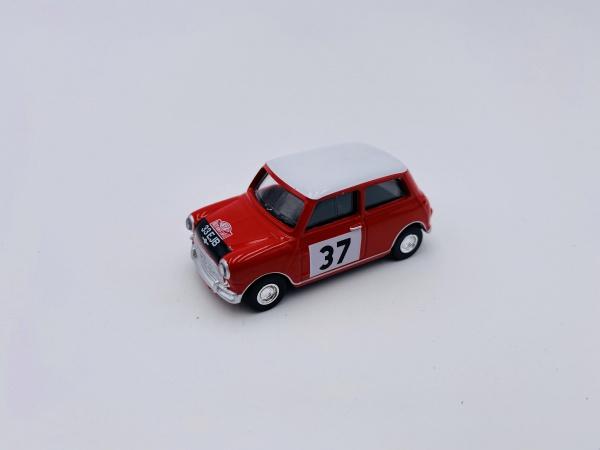 Mini Cooper Red #37 Monte Carlo