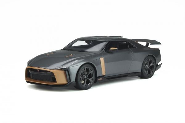 Nissan GT R 50 By Italdesign Liquid Kinetic Grey