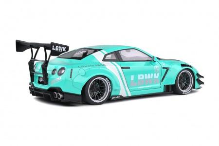 Nissan GTR 35 LB Work Type 2 Mint Green