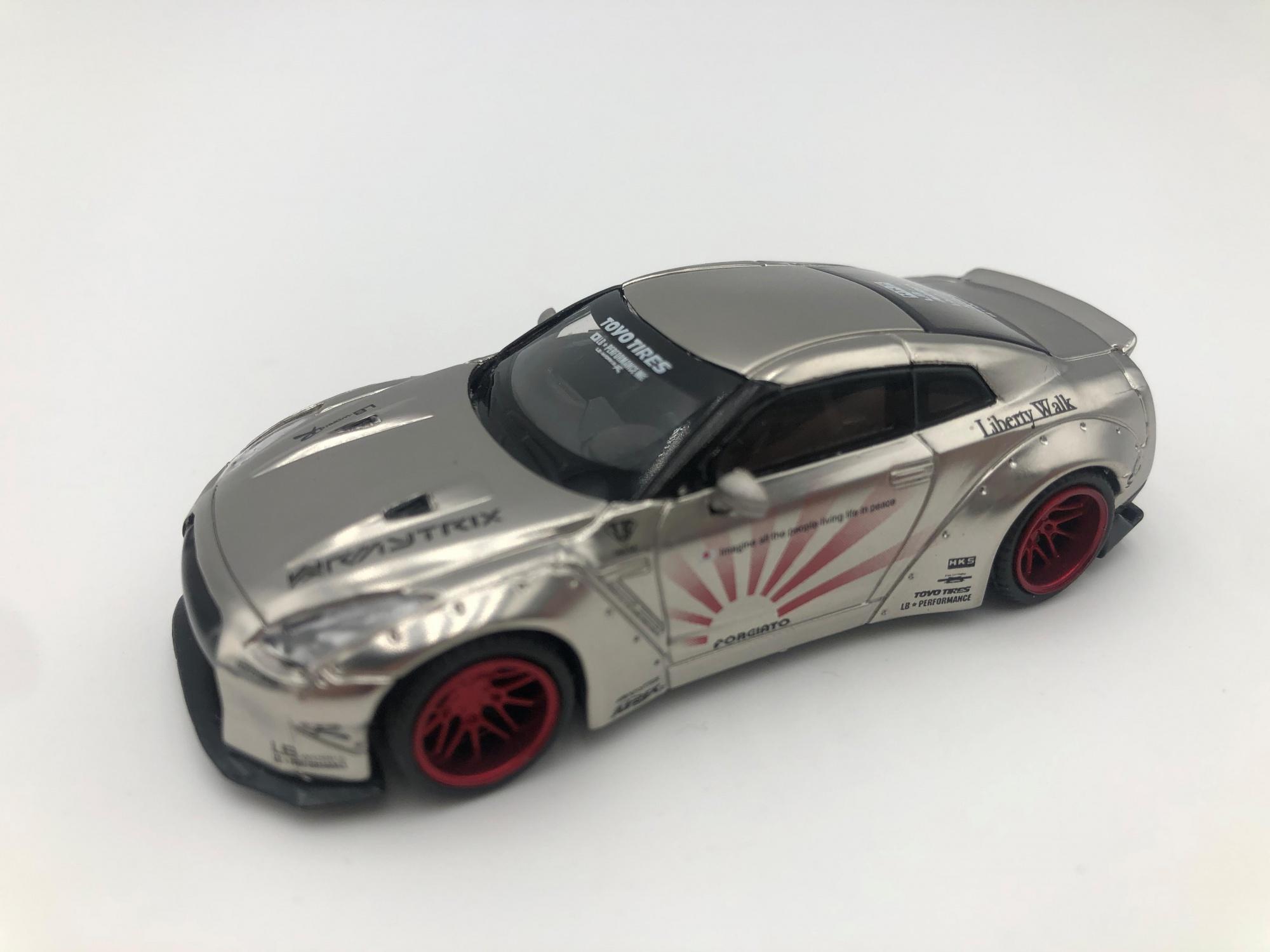 Nissan GTR R35 Type 1 Rear Wing