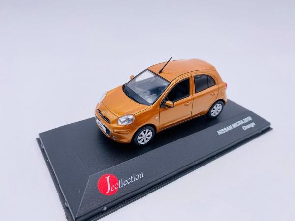 Nissan Micra 2010 Orange