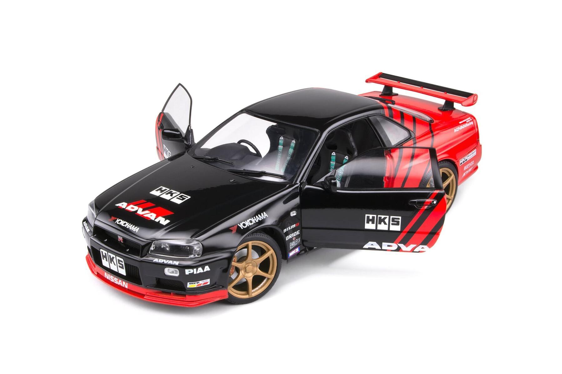 Nissan R34 GTR - Advan Drift