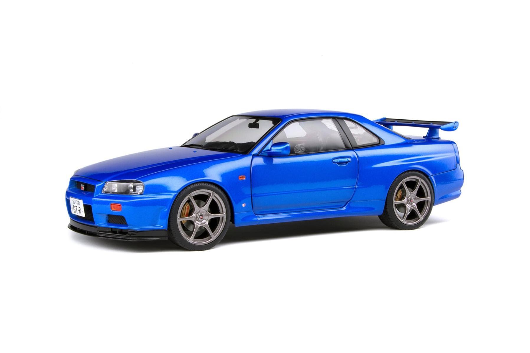 Nissan R34 GTR BAYSIDE Blue