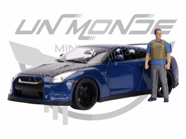 Nissan Skyline GT-R  W/Brian\'s Figure Blue