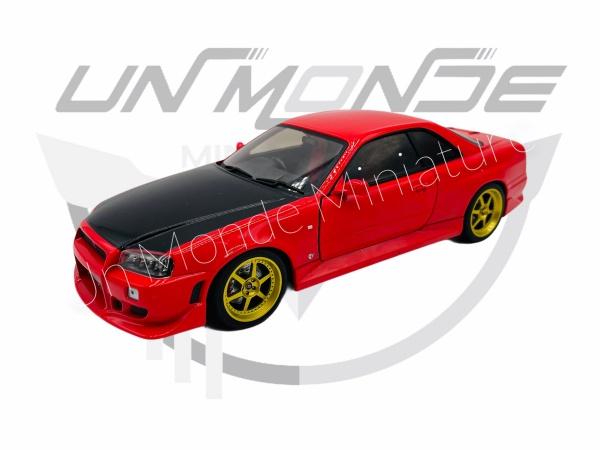 Nissan Skyline GT-R R34 1999 Red