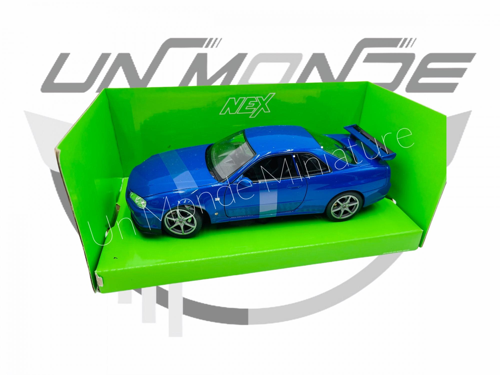 Nissan Skyline GT-R R34 Blue