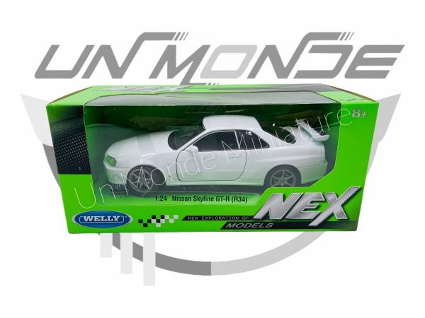 Nissan Skyline GT-R R34 White